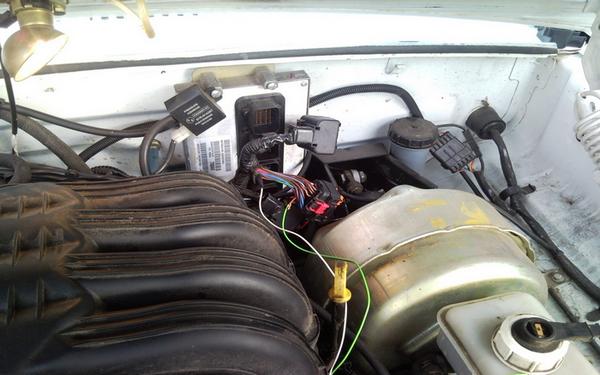 ГАЗ с двигателем Крайслер
